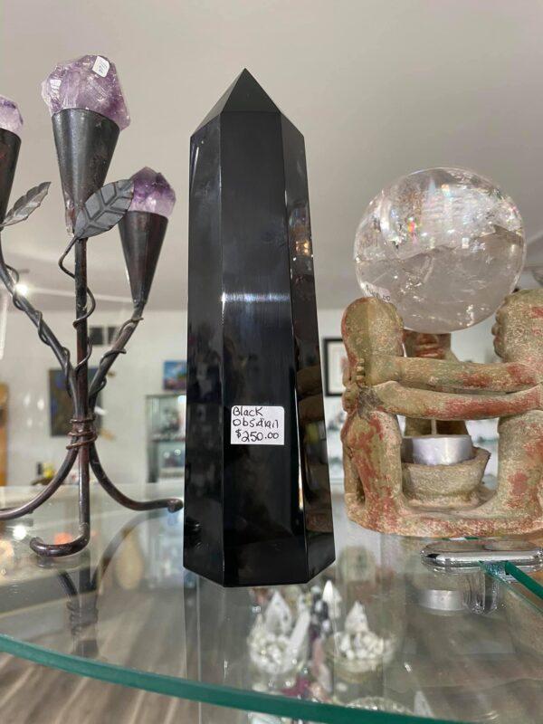 Obsidian Black Larger