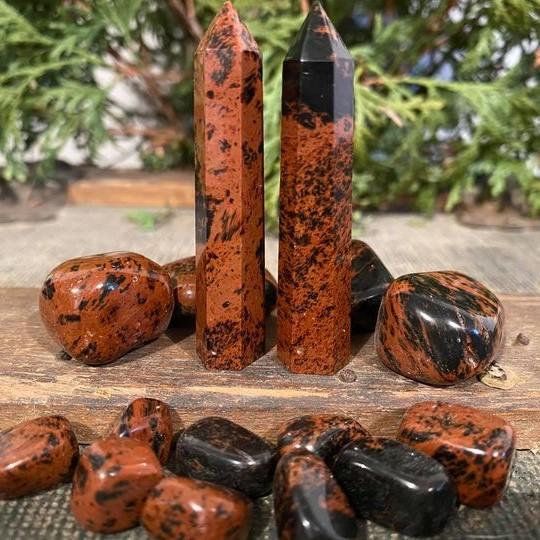 Obsidian Mahogany Cover