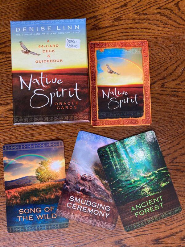 Natiue Spirit Oracle Cards