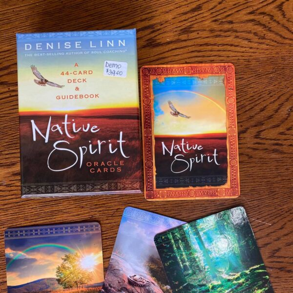 Natiue Spirit Oracle Cards Cropped