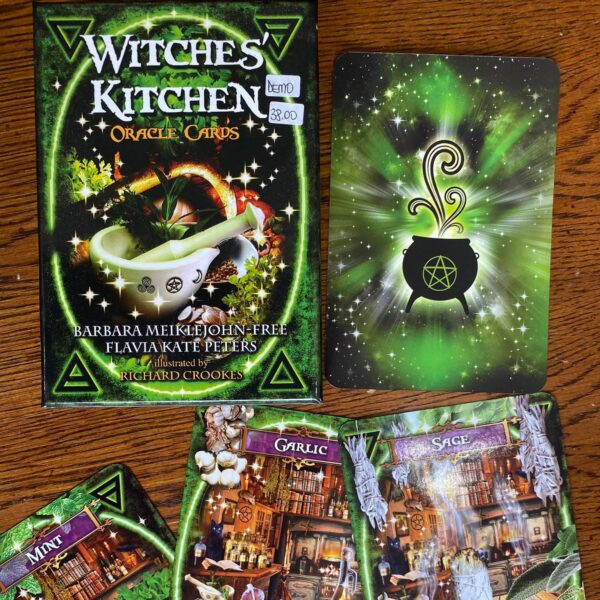 Witches Kitchen Oracle Cards Cropped